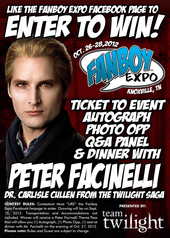 Peter Facinelli contest