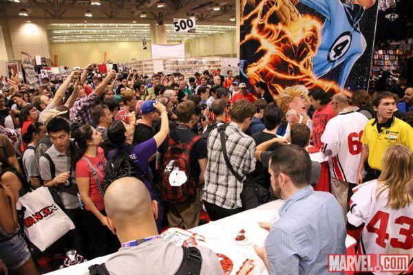 Fan Expo Canada 2012 Marvel