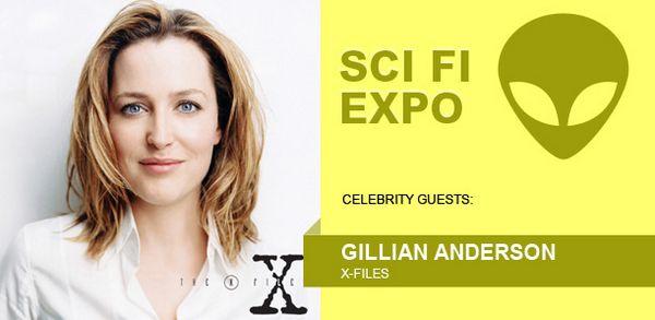 Gillian Anderson Fan Expo Canada