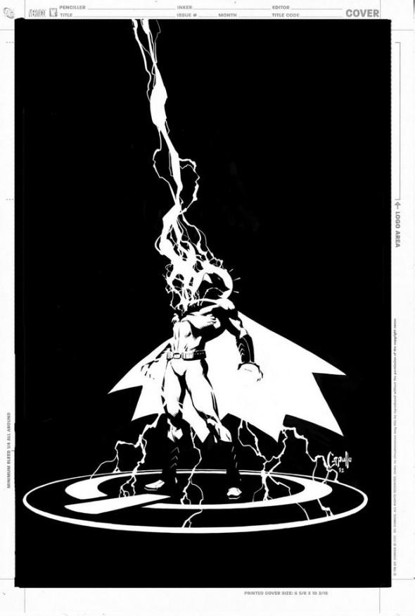 Greg Capullo Batman 12