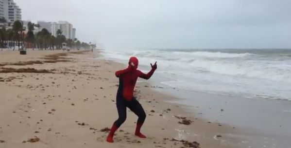 Spider-Man Isaac