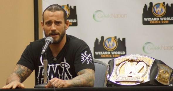 CM Punk Wizard World
