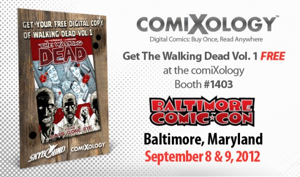 Comixology Walking Dead Baltimore