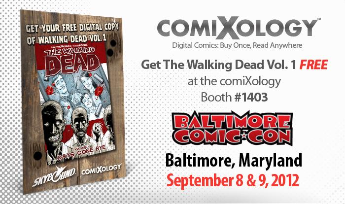 Comixology Walking Dead Baltimore