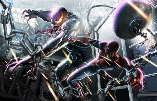 Greg Horn Spider-Man Venom