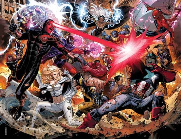 Jimmy Cheung Avengers Vs. X-Men
