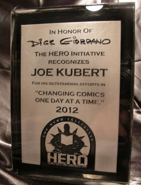 Joe Kubert HI Award