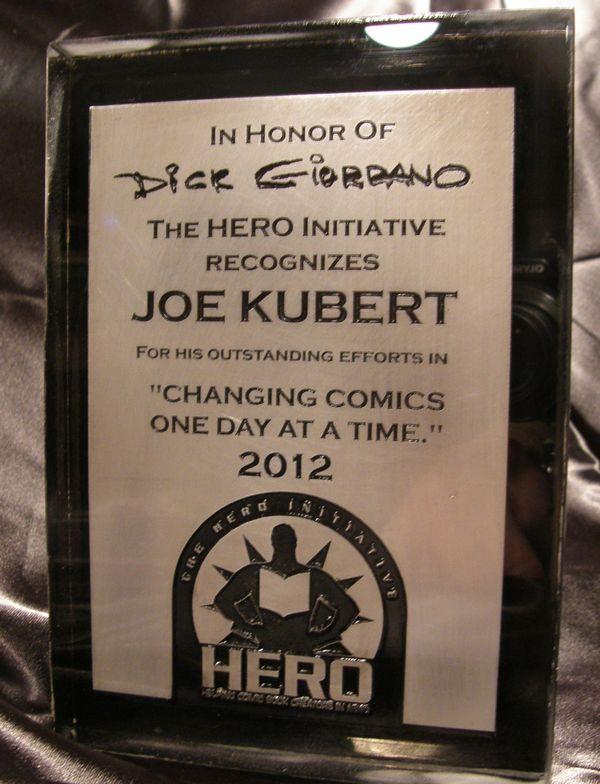Joe Kubert HI Award