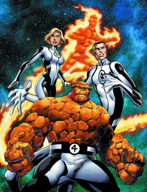 Mark Bagley Fantastic Four 1