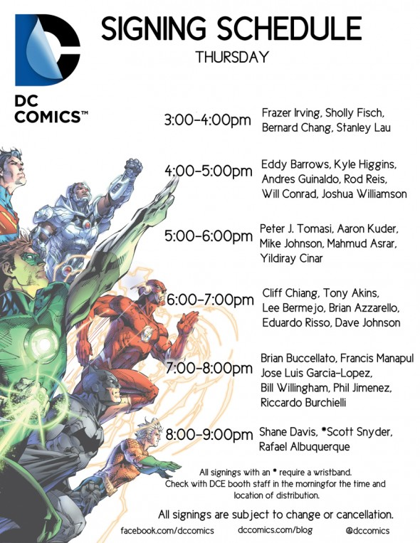 DC Thursday NYCC