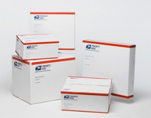 Priority Mail Boxes