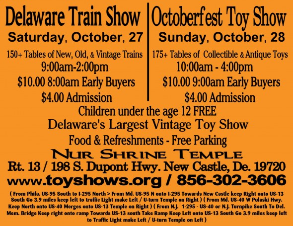 Train Octoberfest Flyer orange online 2012