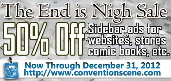 The End is Nigh Sale 2012