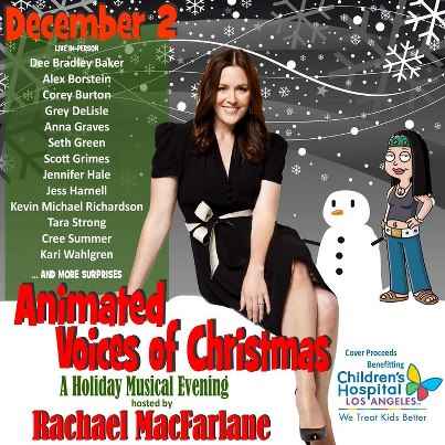 ca animated voices of christmas convention scene