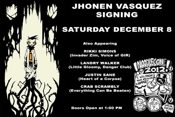 Jhonen Vasquez - Convention Scene