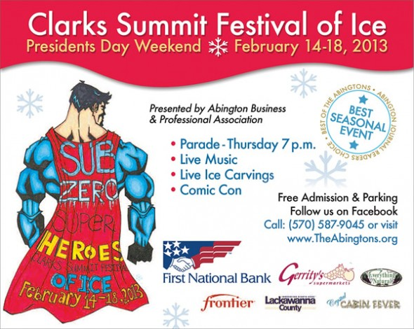 Clarks Summit Festival of Ice