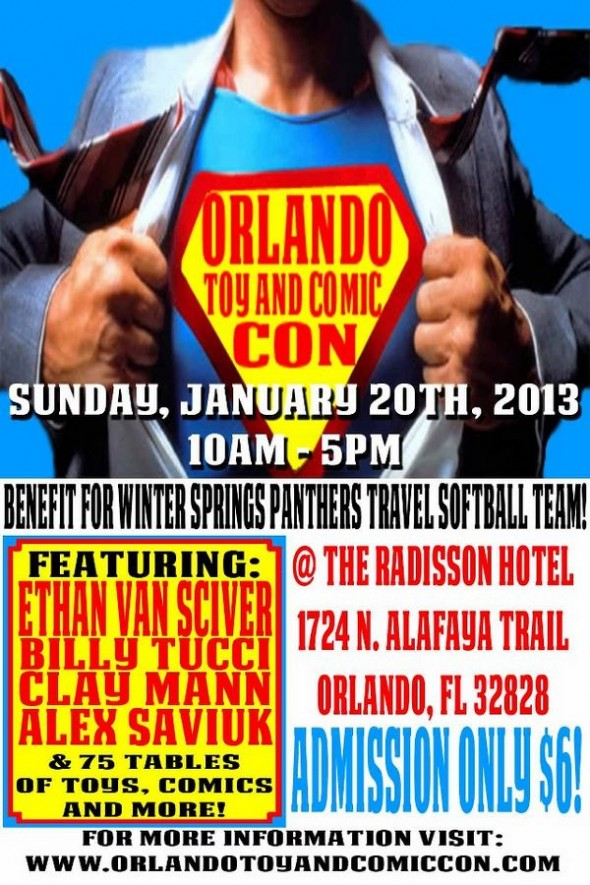 Orlando Toy and Comic Con