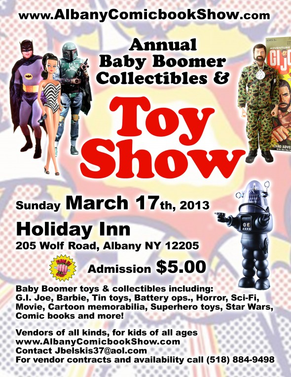 Toy Show, March 17th