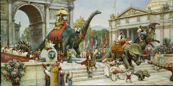Dinosaur-Parade