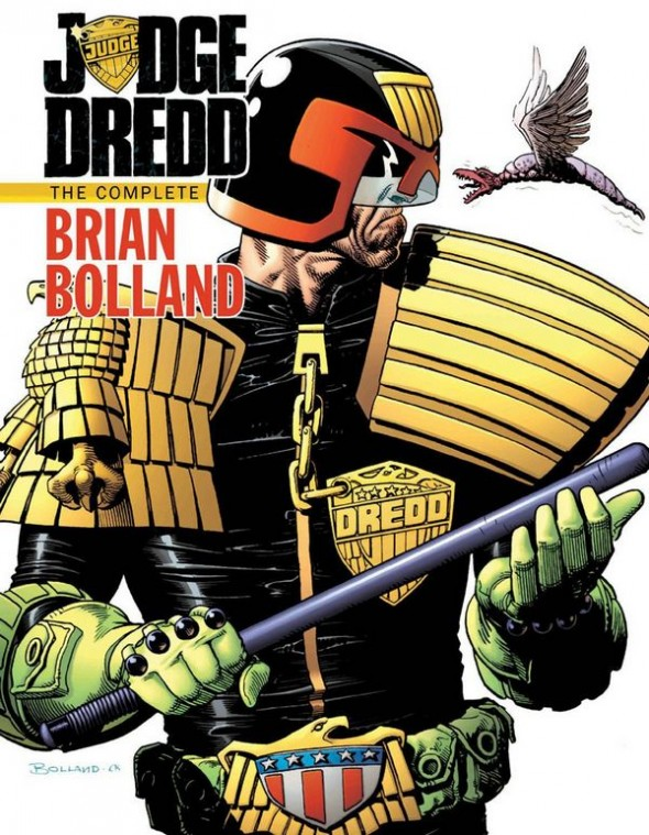 Judge Dredd Brian Bolland