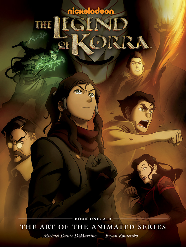 dark horse announces legend of korra art book convention scene