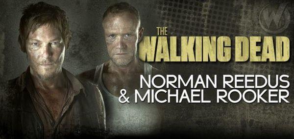 Walking Dead Dixon Brothers