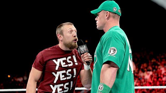 Daniel Bryan John Cena