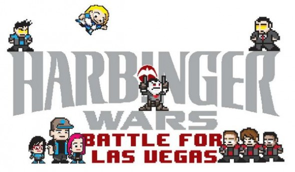 Harbinger Wars game logo