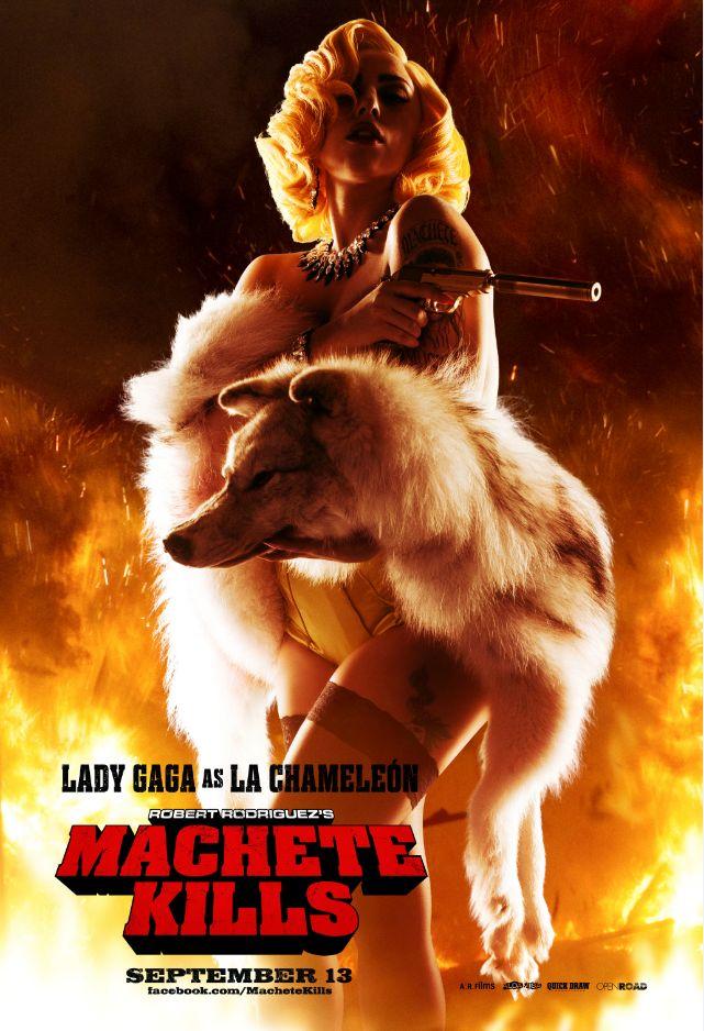 Lady Gaga Machete Kills