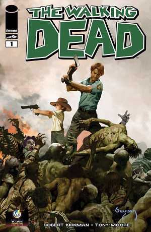 Suydam variant Walking Dead cover