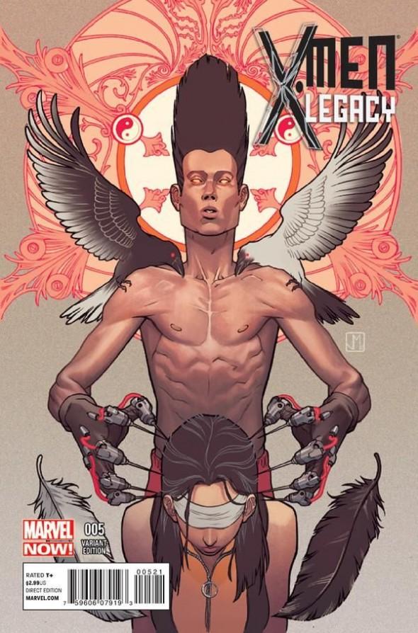 X-men Legacy Molina Variant