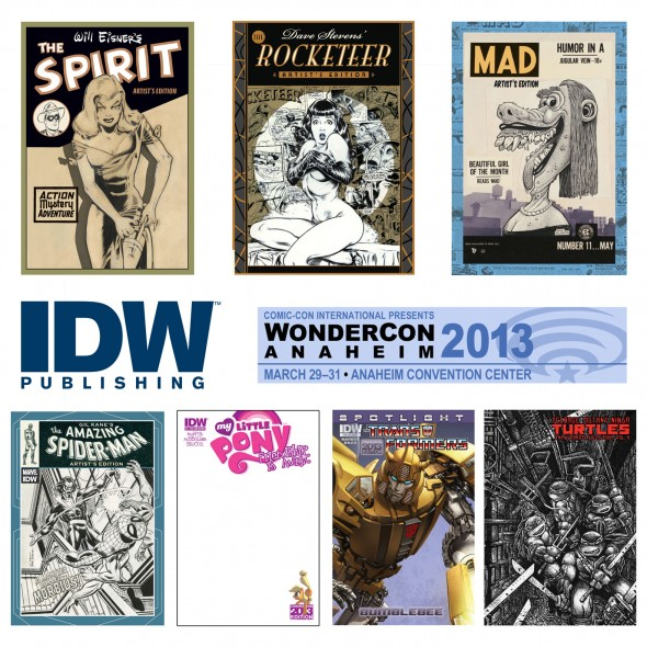idw_Wondercon_Exclusives