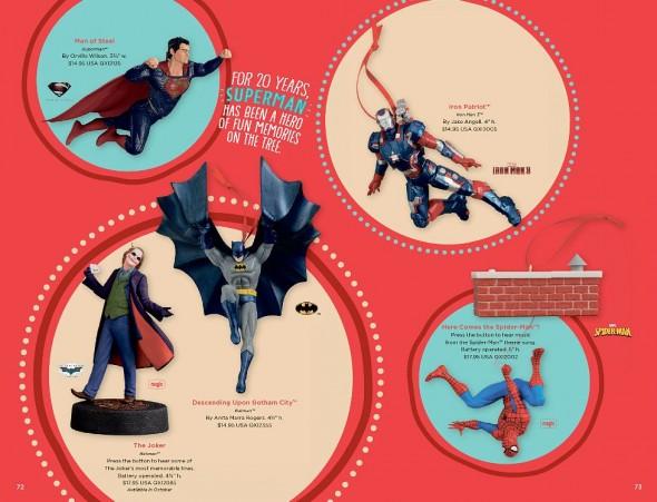 Comic Book Ornaments