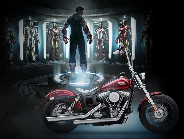 Harley-Davidson and Marvel Iron Man 3 Contest Offers Five