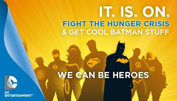 We Can Be Heroes Batman