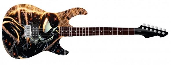 Todd guitar SDCC