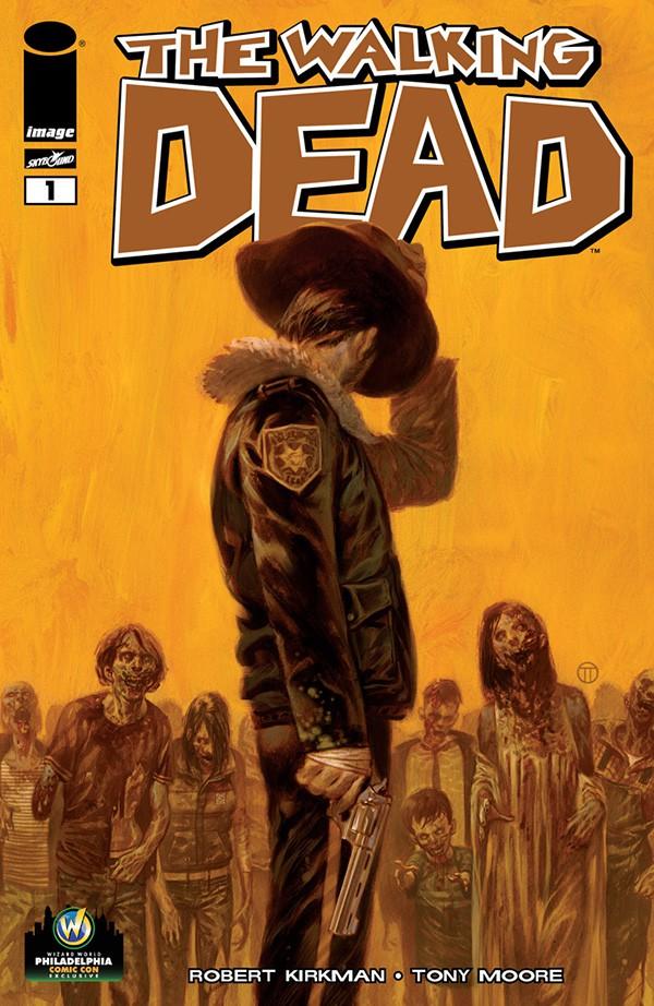 Walking Dead Philadelphia Variant