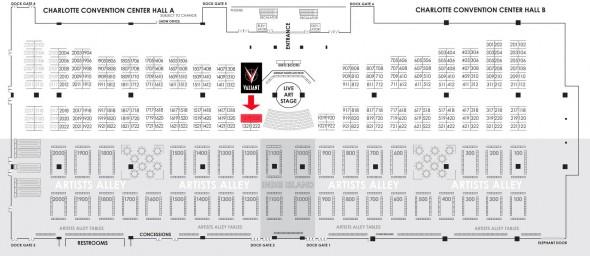 Valiant at HeroesCon 2013