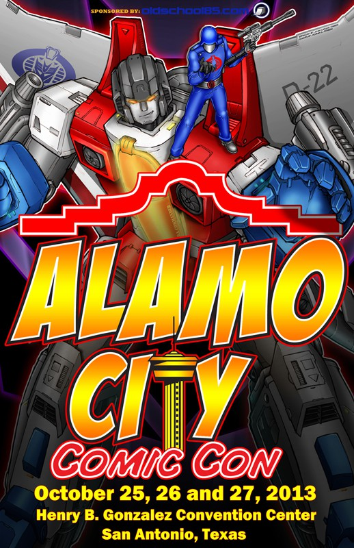 Alamo City Comic Con Flyer