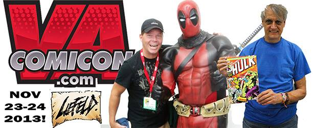 Rob Liefeld VA Comicon