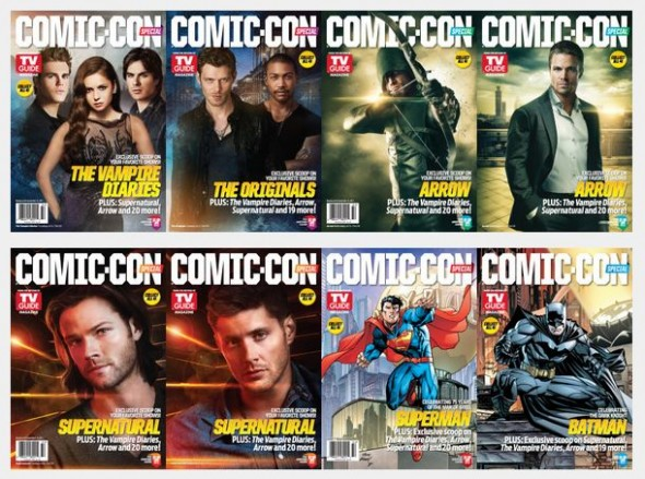 TV Guide Covers SDCC