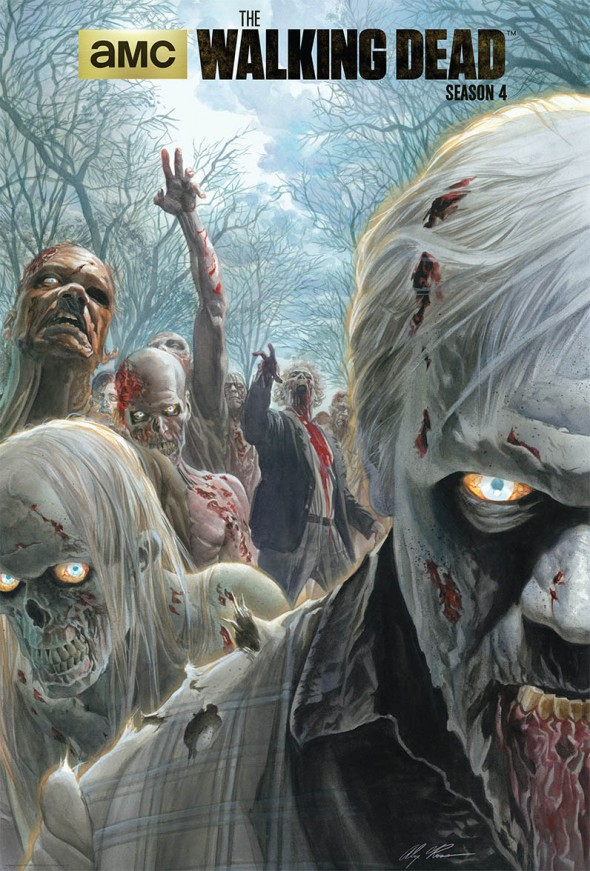 Walking Dead SDCC Alex Ross