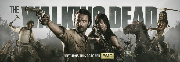 The Walking Dead Banner SDCC