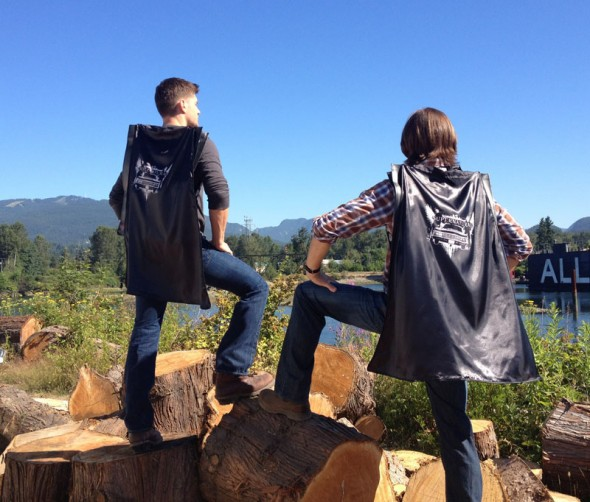 Supernatural SDCC Capes