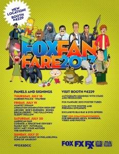 Fox SDCC 2013
