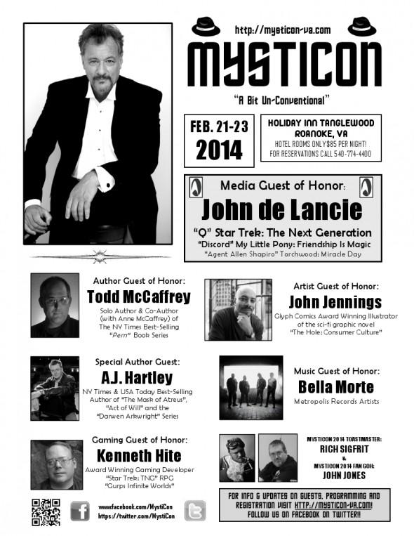 MystiCon 2014 Flyer