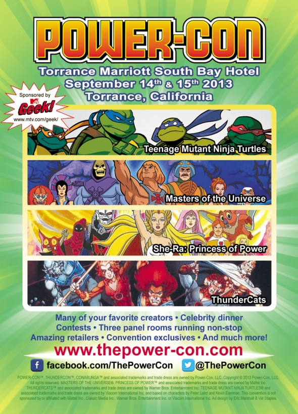 Power-Con 2013 Promo Flyer