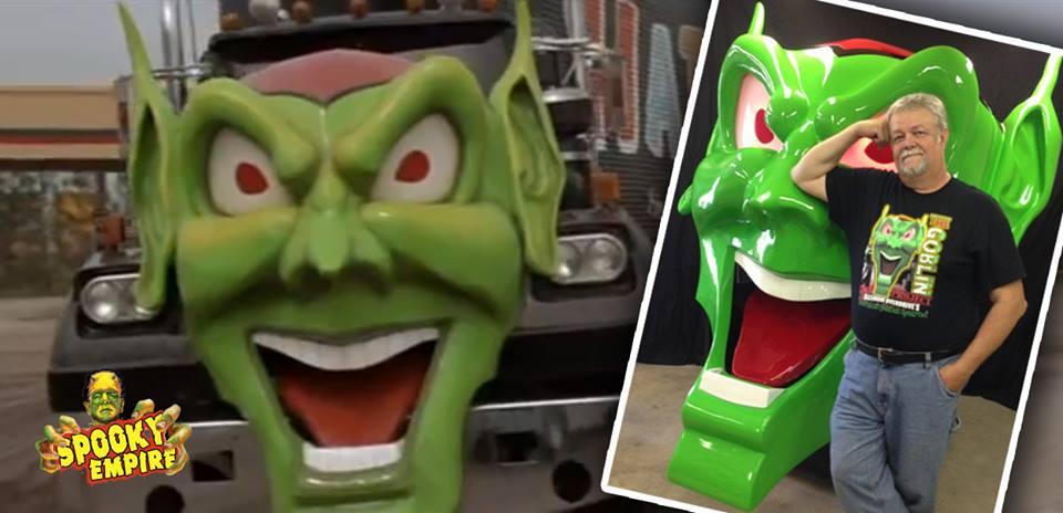 Green Goblin Head