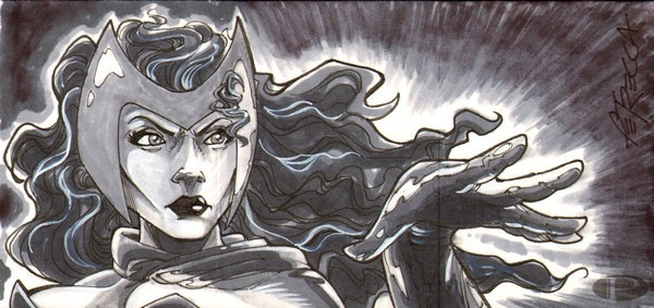 Scarlet Witch by Bob Petrecca