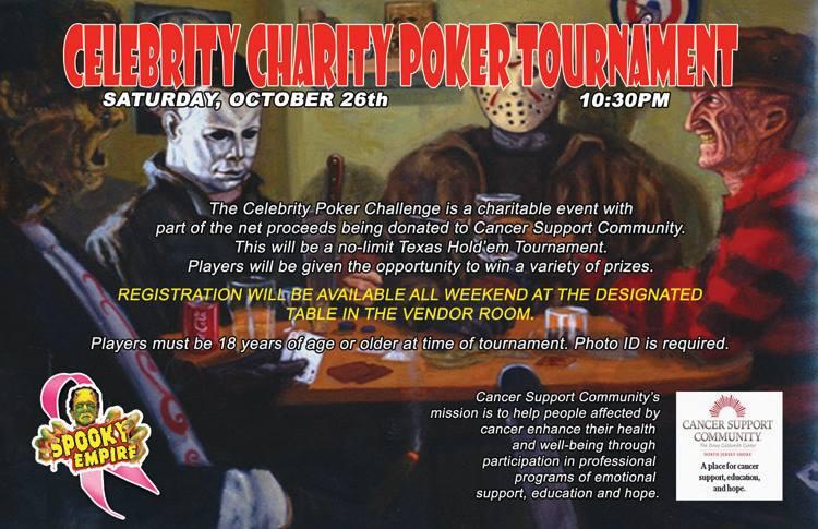 Spooky Poker charity